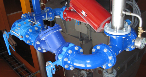 Industrial piping Storvik