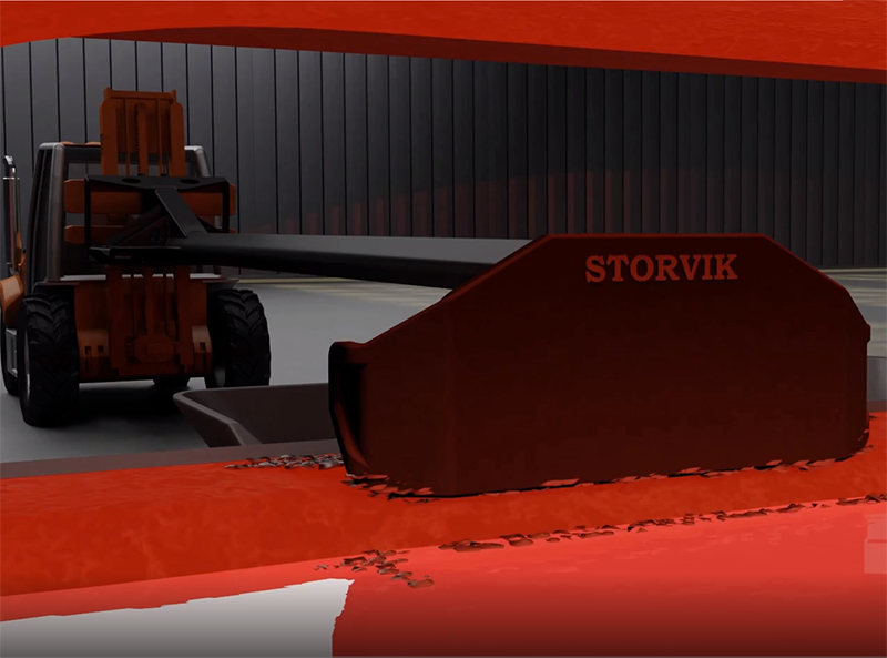 Storvik 3d animations Furnace tending tools