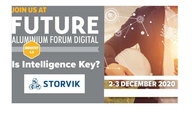 Storvik with virtual stand during Future Aluminium Forum Digital